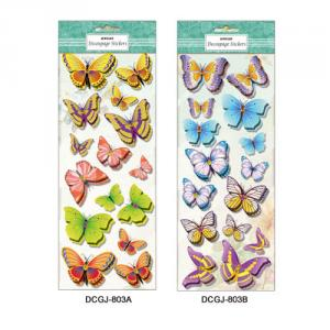 3D-Decoupage Handmade Glitter Sticker series