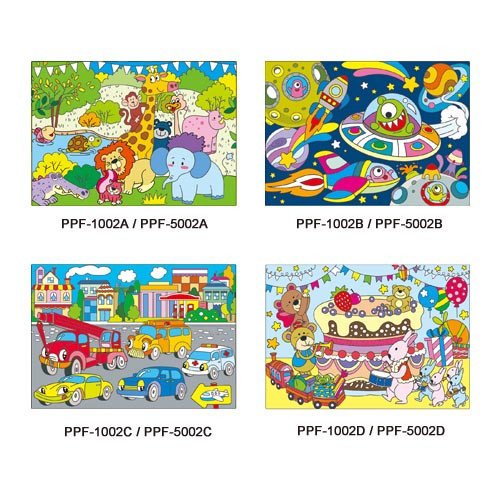 PP Colorful Dining Mat series